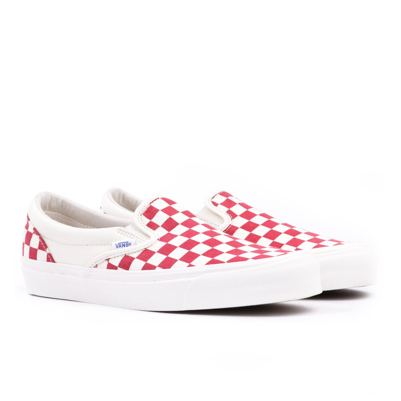 Vans Classic Slip Ons Checkered