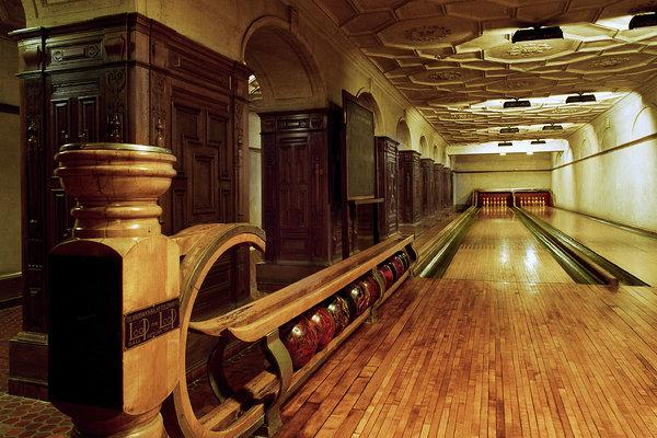 The Bowling Alley Under the Henry C. Frick Collection Museum -