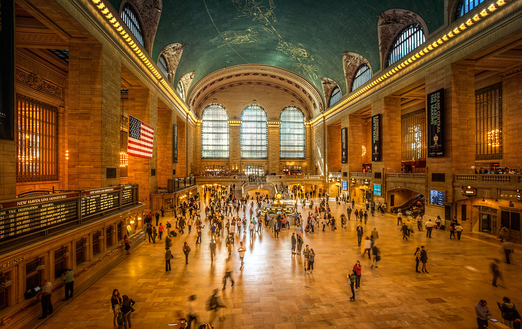 The Grand Central Terminal Whispering Spot -