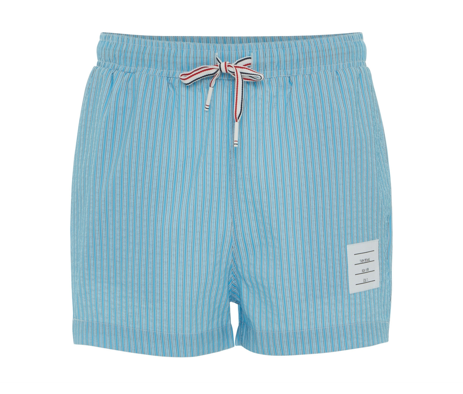 Striped Seersucker Swim Short – Thom Browne