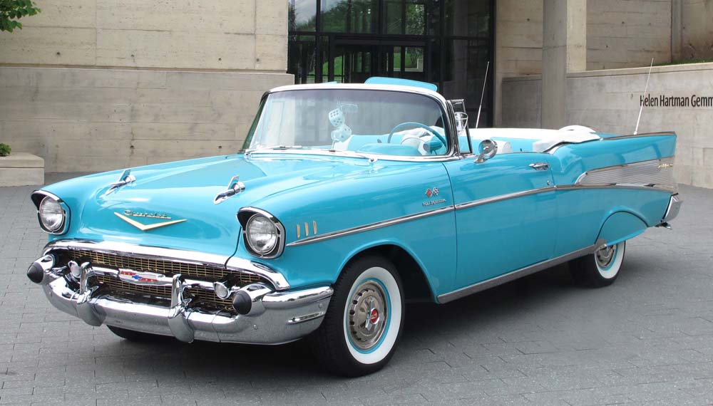 2014 - 1957 Chevy Bel Air Convertible