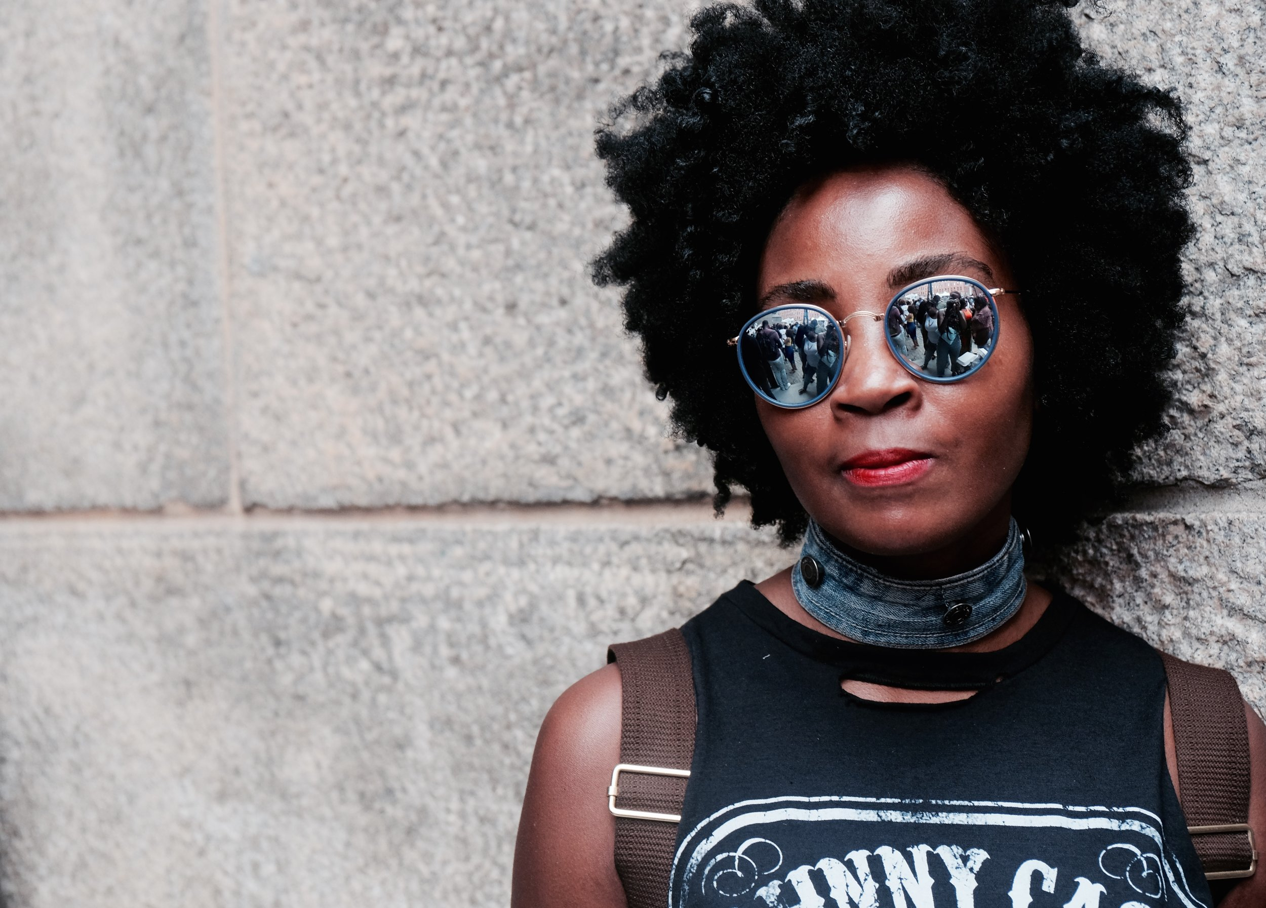 Street Style - Snaps of #BlackGirlMagic at the 3rd Annual Essence Street Style Block Party in Dumbo Brooklyn