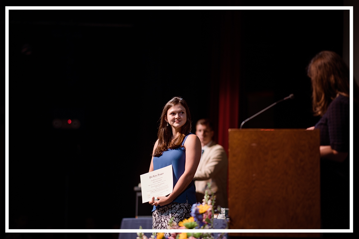 Student Recognized