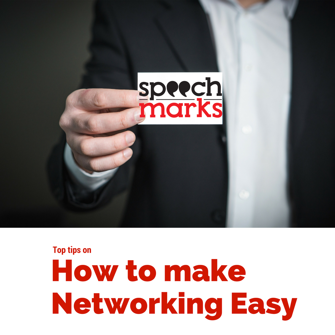Speech Marks Diana Thomson Networking Tips