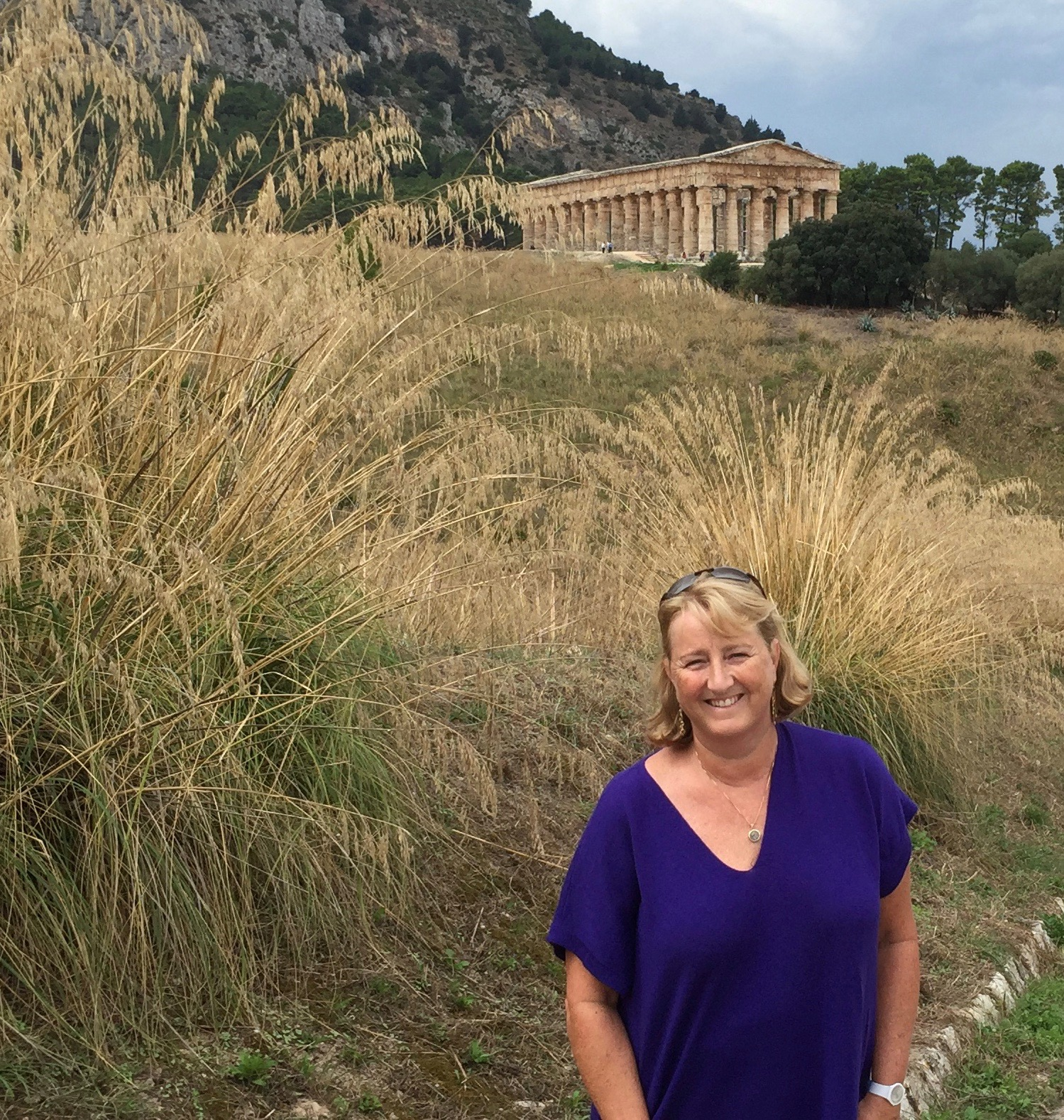 In my happy place at Segesta