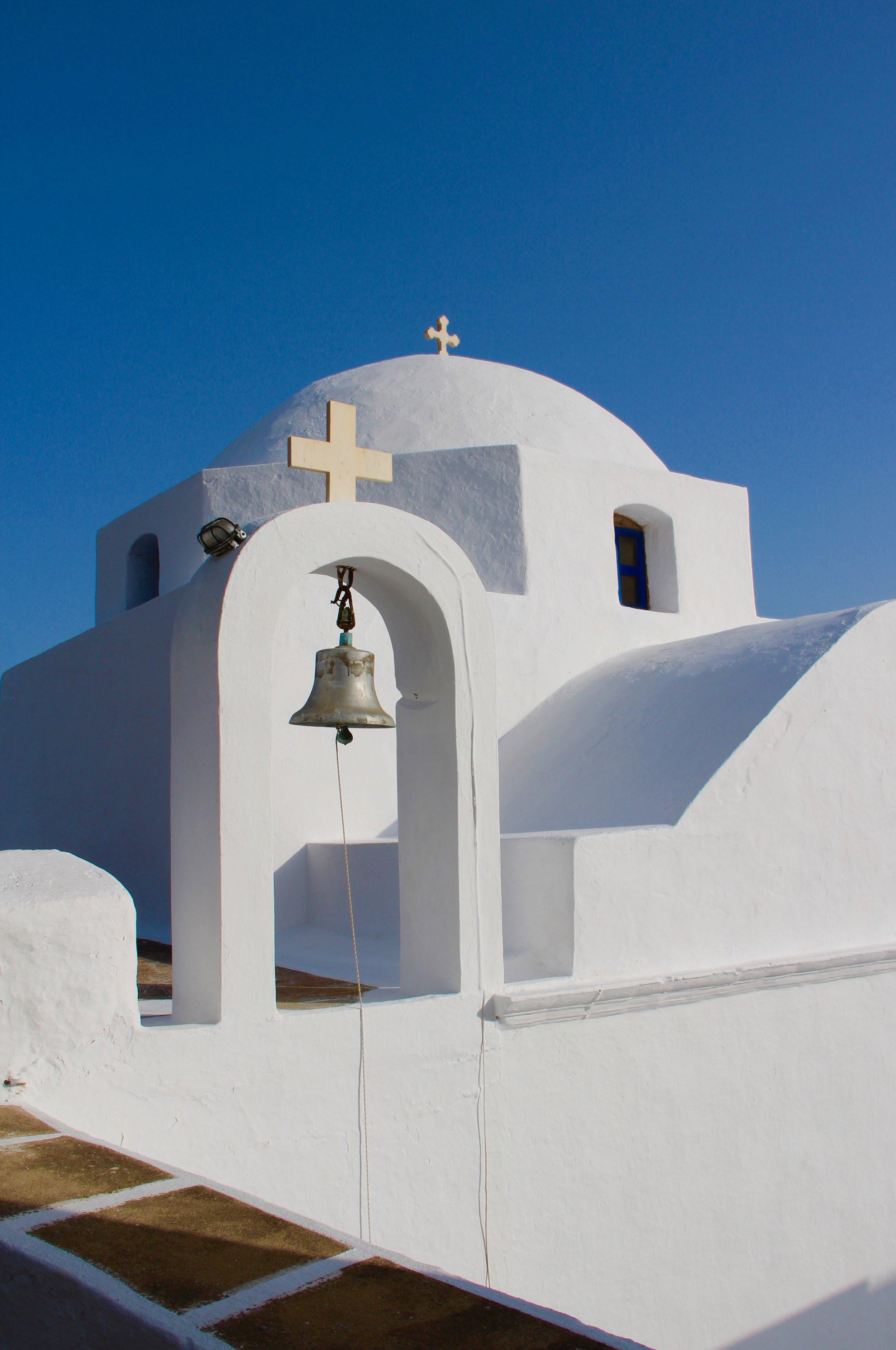 A church on Serifos