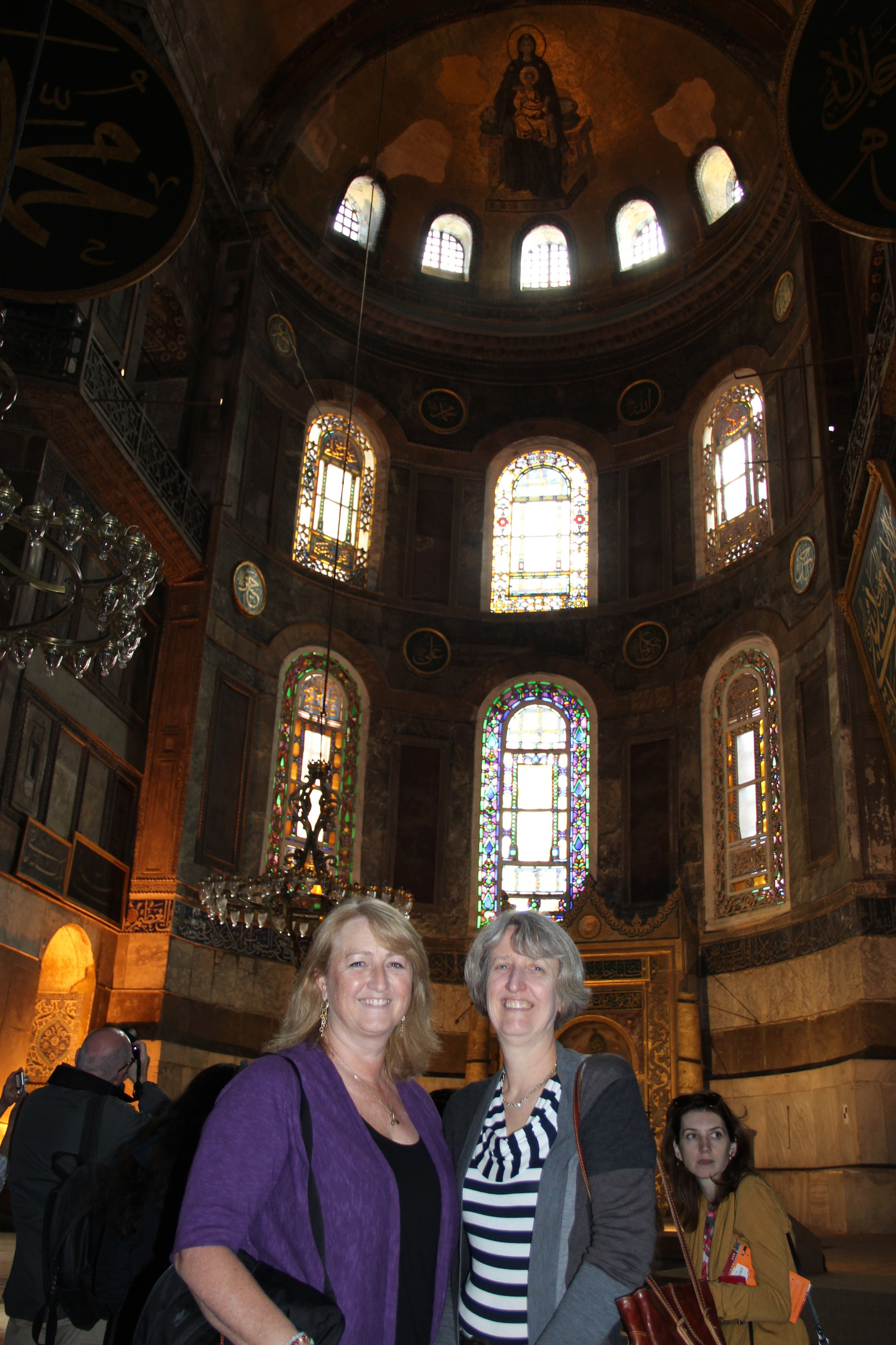 Glorying in the scale of Justinian's vision The largest building in the world for 1,000 years.