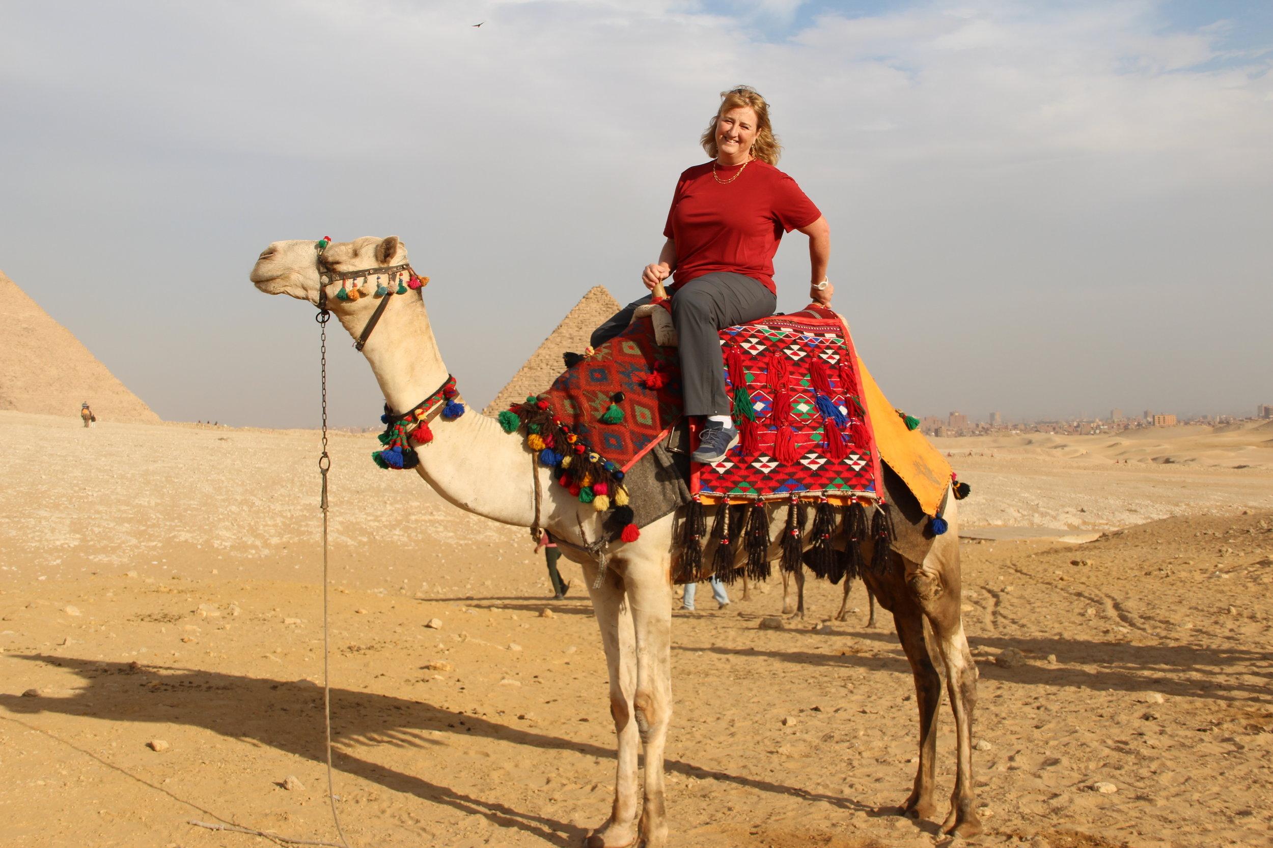 When in the desert...