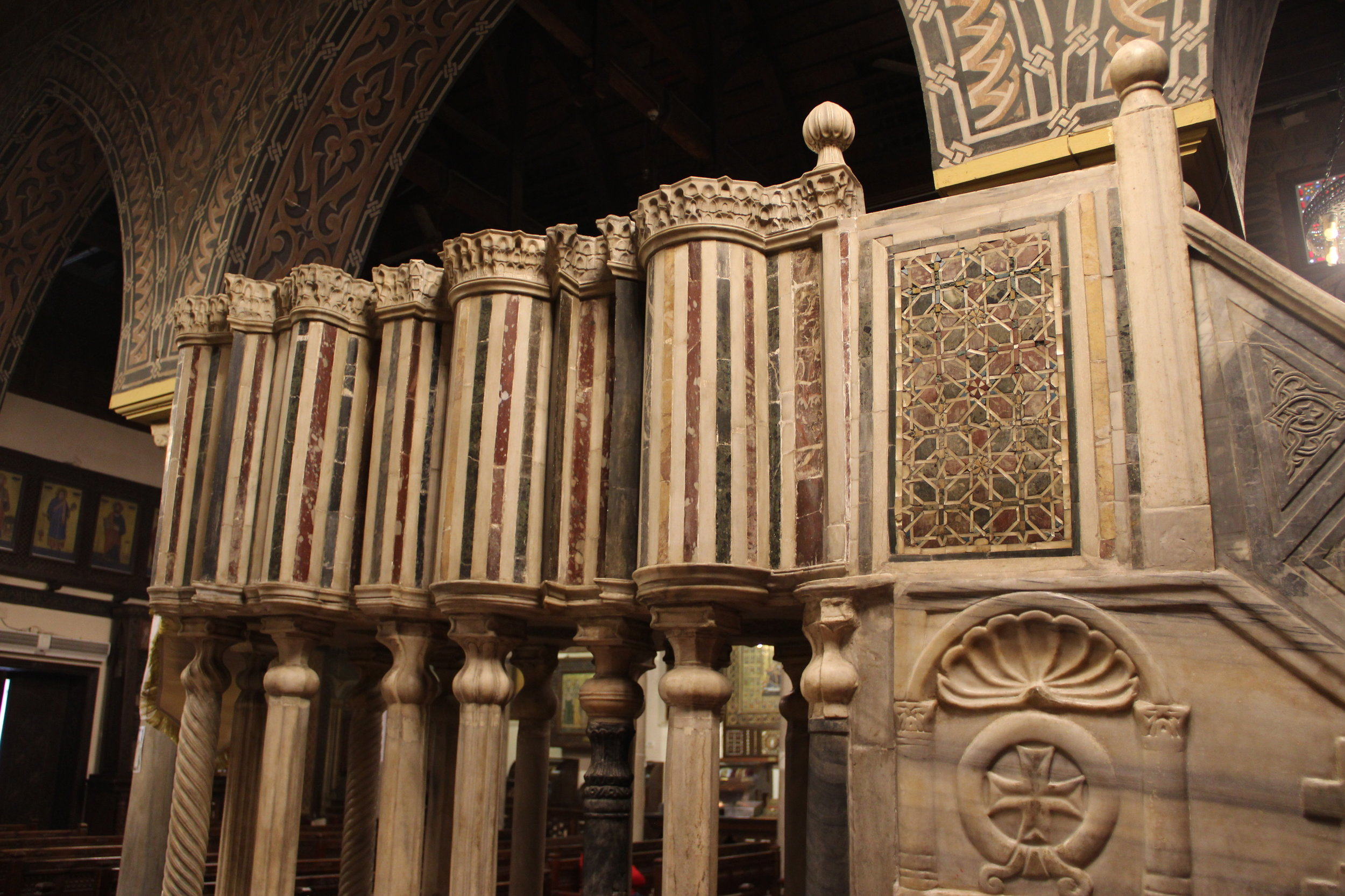 Blending East and West, pagan and Christian in the Coptic pulpit
