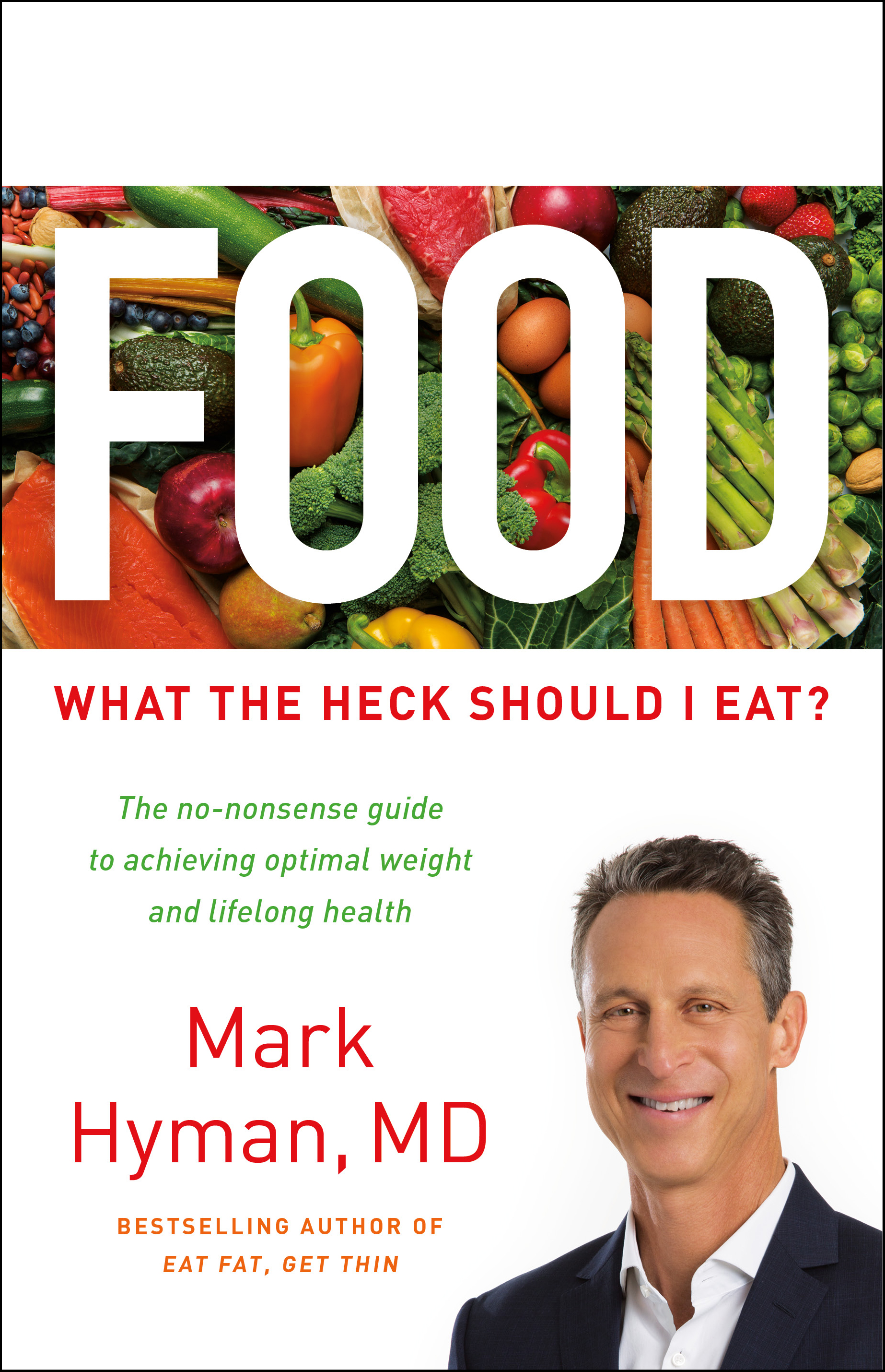 Cover of Dr. Hyman's new book