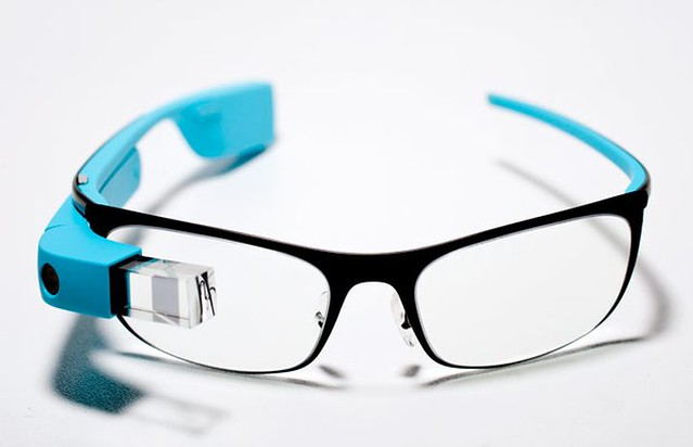 Google Glass (image credits: Oll Raqwe)
