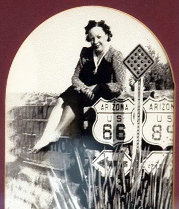 Lilian Redman Owner of the Blue Swallow Motel in Tucumcari, NM