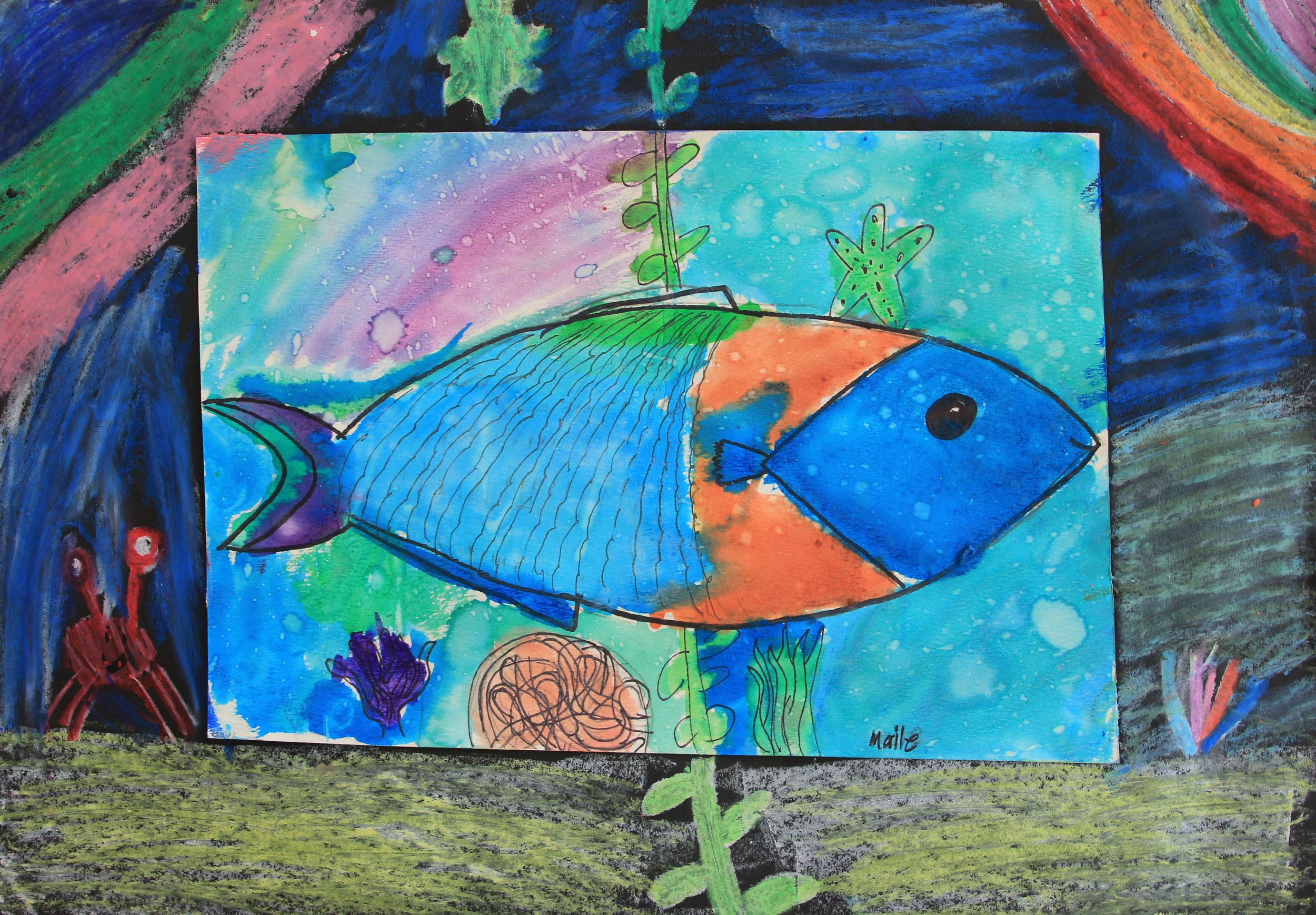 Maile Sargent Fish Art.JPG