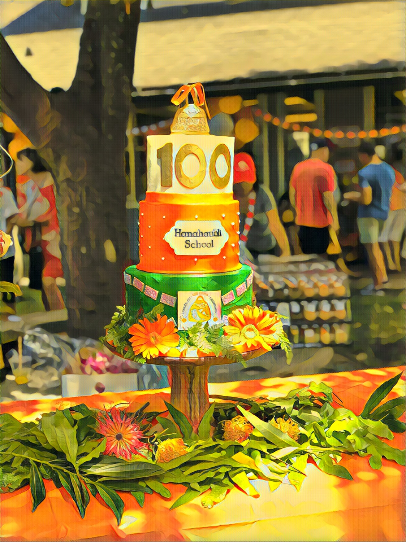 100th Bday Cake.JPG
