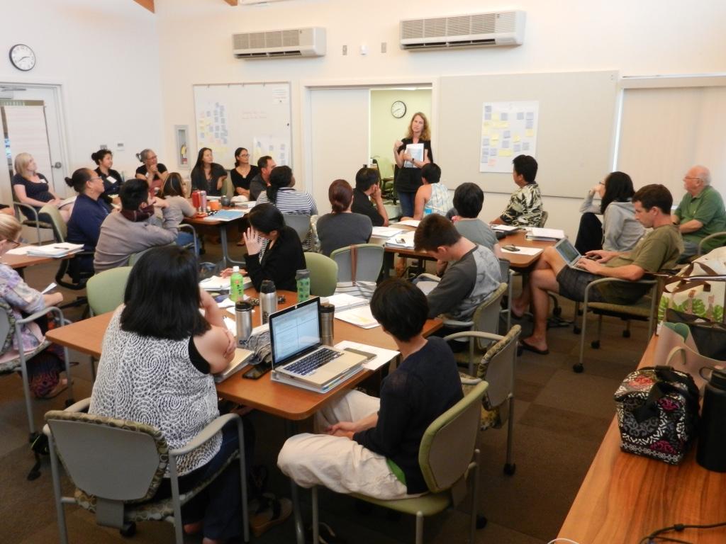 Thematic Institute 2016 Level II teaches Level I -4.jpg