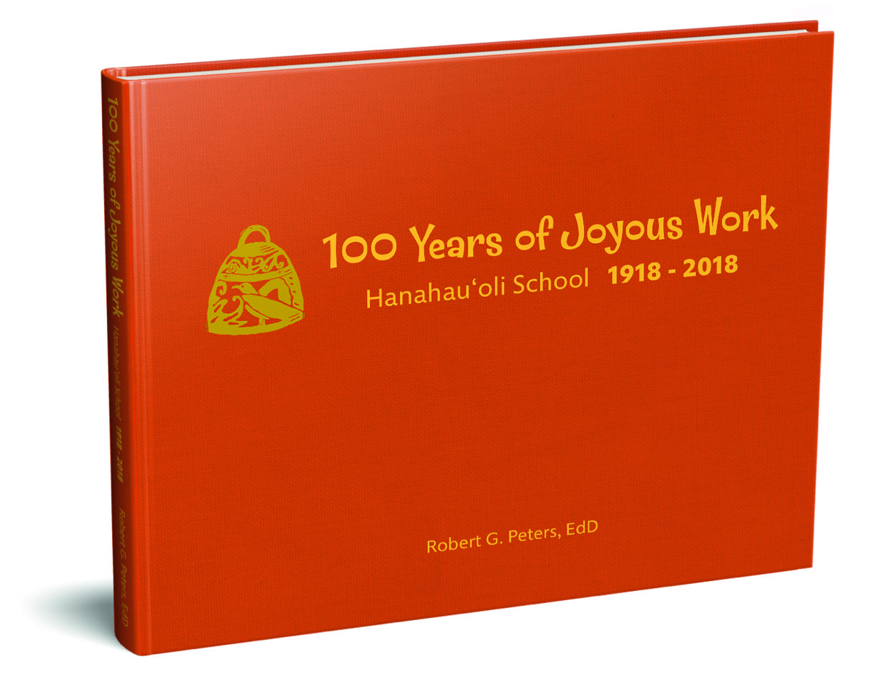 100 Years of Joyous Work - The Hanahau'oli Centennial commemorative book, 100 Years of Joyous Work is a 170-page hardcover book penned by Hanahau'oli's long time head of School, Dr. Robert Peters. It provides a captivating picture of Hanahau'oli as one of the nation's first progressive schools, celebrates its rich history, and honors the legacy of the people and traditions that make Hanahau'oli special. Photos, maps, and drawings, both historical and modern day, fill the pages, complementing the rich and intimate narrative. Also included are a 100-year historical timeline and class pictures dating back to 1922.