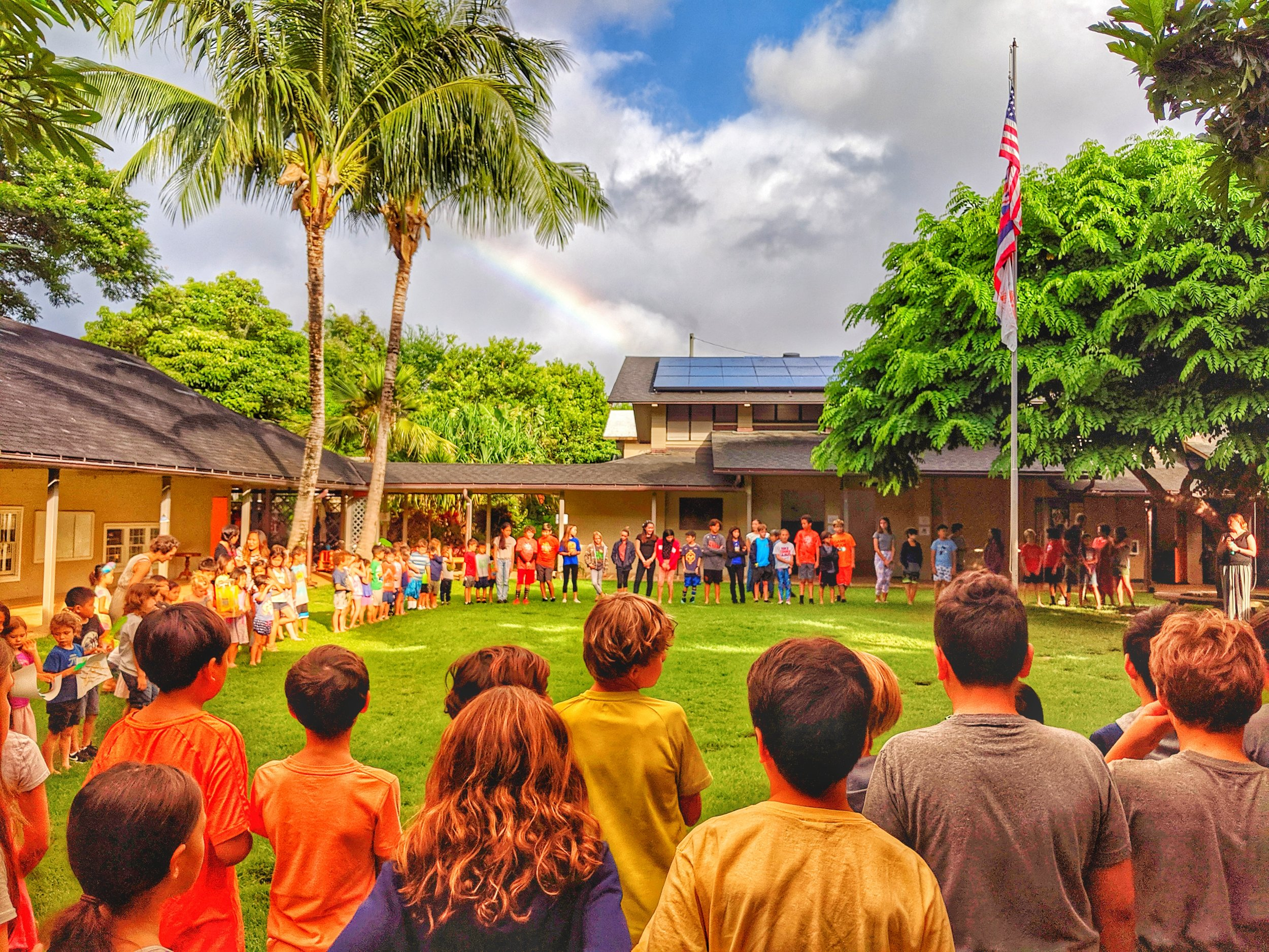 The Gift of a Hanahau'oli Education   Make A Difference    Support Financial Aid