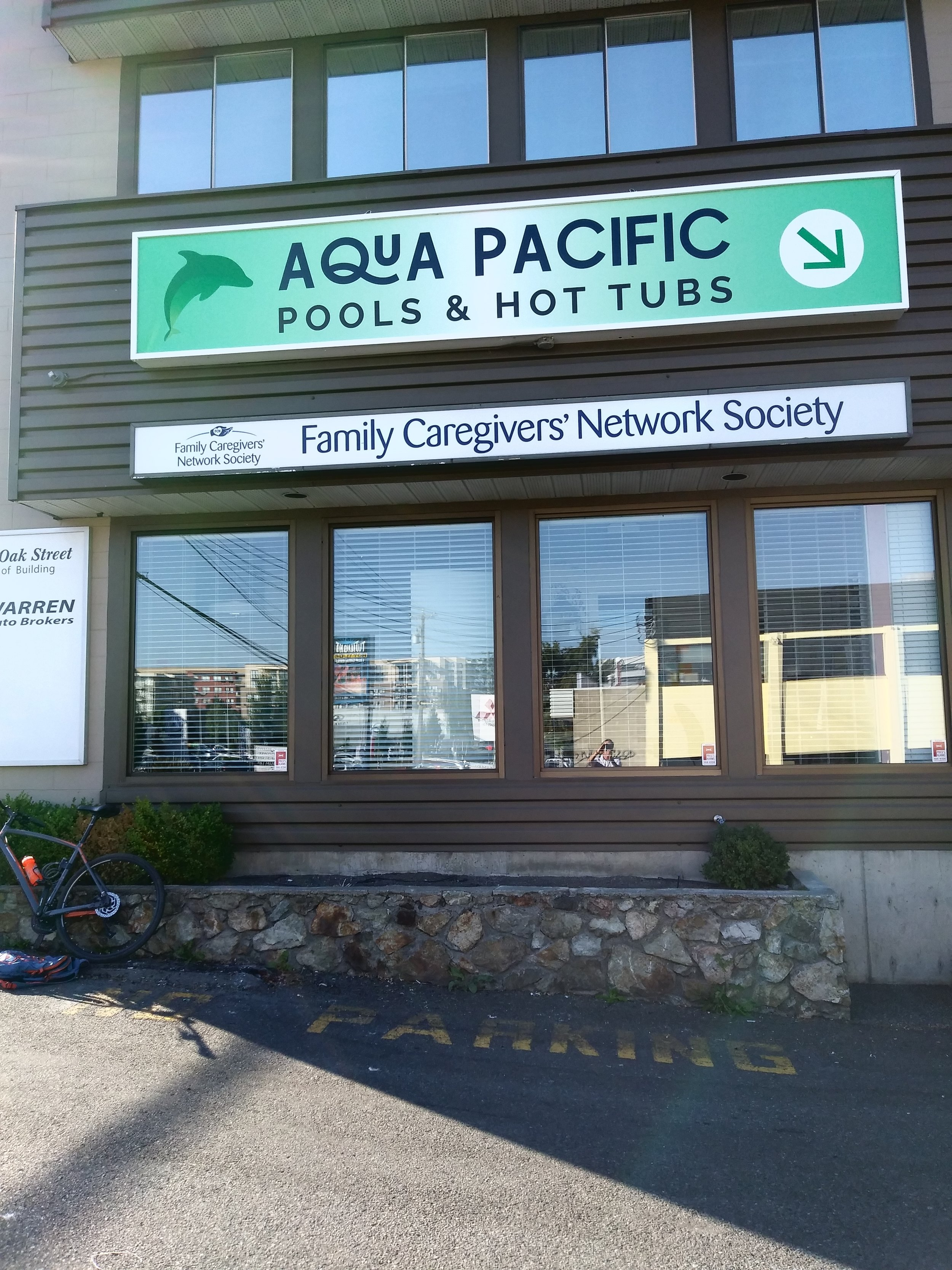 Aqua Pacific new signage