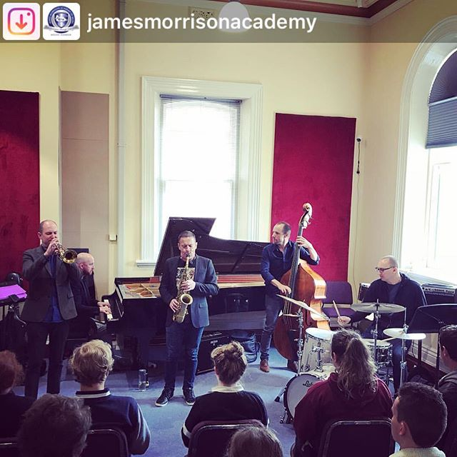 Always a pleasure to work with the great students at the @jamesmorrisonacademy. Thank you for having us this week. Looking forward to having a hit at @morrisonsjazzclub tomorrow night!  #Repost from @jamesmorrisonacademy. How lucky are our students to have SPEEDBALL here this week!!! They'll be at @morrisonsjazzclub tomorrow night!!! Get your tickets on www.stickytickets.com.au  @speedballtheband we love you!!! 🎶