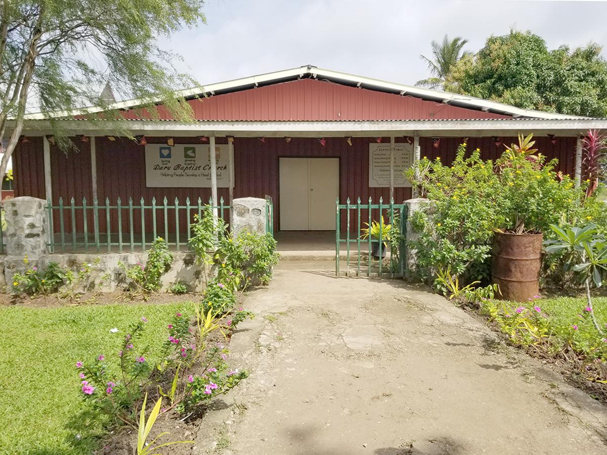 Daru Baptist Church - building.jpg