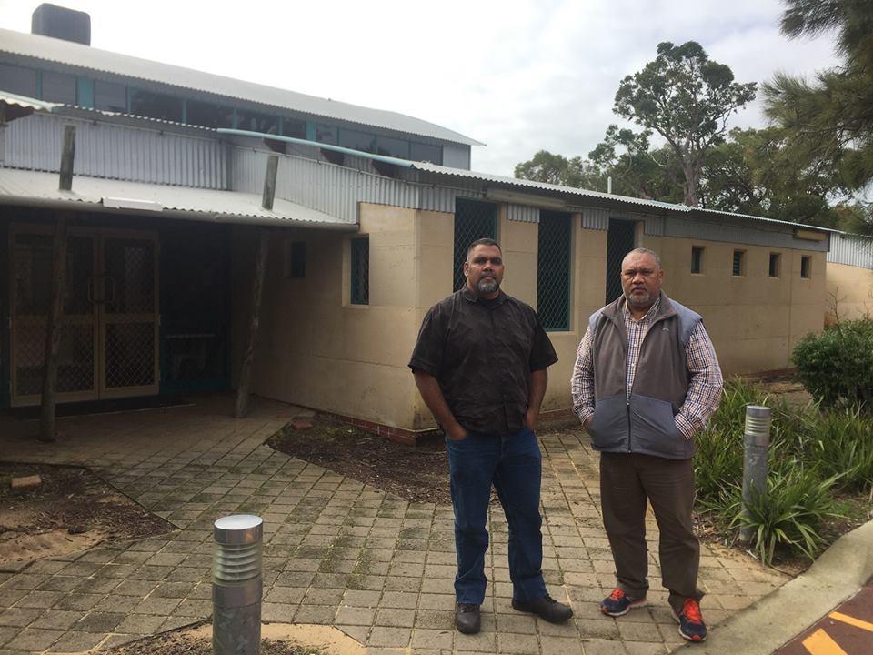 Brother Stephen Morrison and Pastor Dala Momo