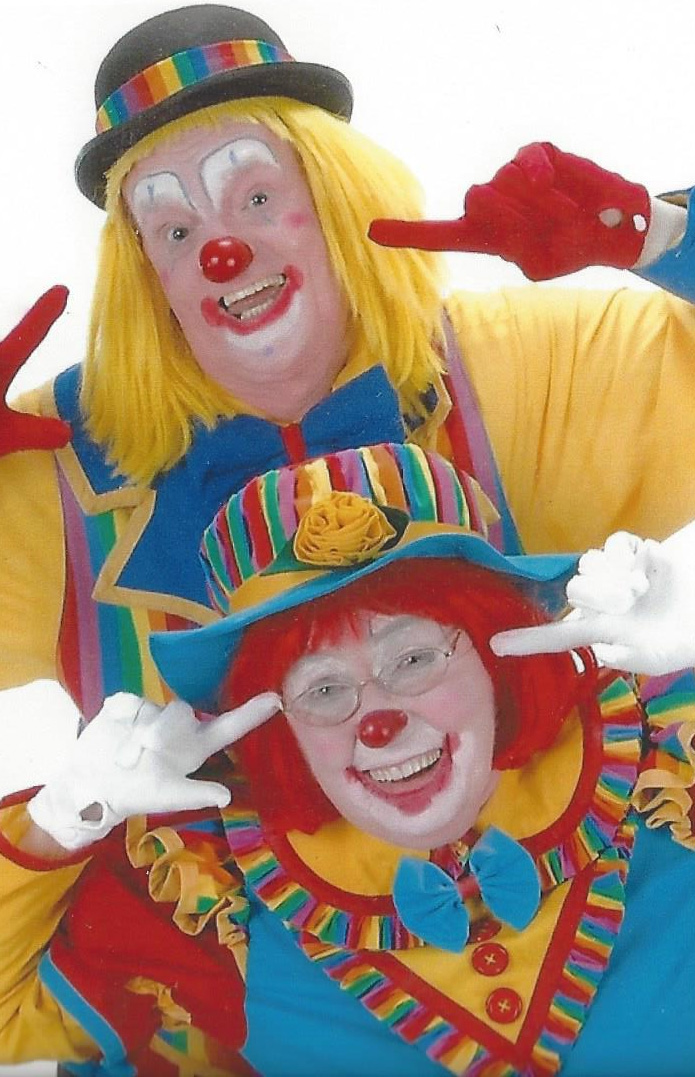 Giggles and Grinz the Clowns