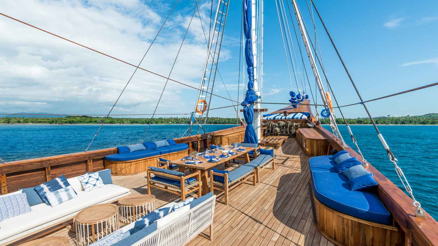 Ocean Pure deck Indonesia