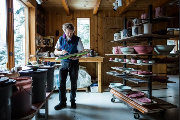 Potter of the Month - On my old website, I hosted a monthly series of interviews with potters at all stages of their career. Please give it a look. Potters interviewed include Sarah Jaeger, Peter Brondz (pictured), Joseph Pintz, Meredith Host, Sue Tirrell, Simon Levin, Deborah Schwartzkopf, Micheal Kline and many more!