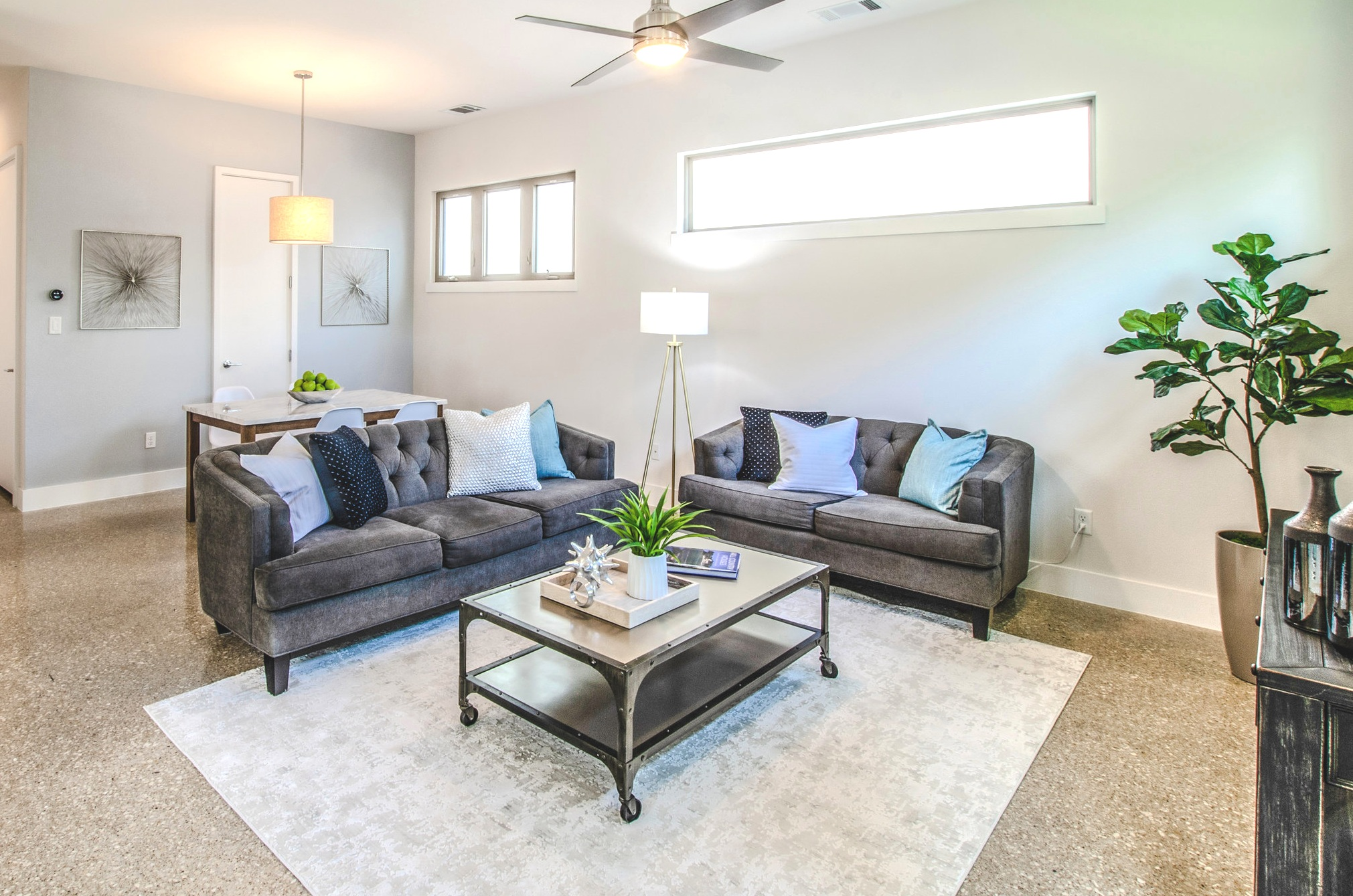 Staging by Debut Homes,
