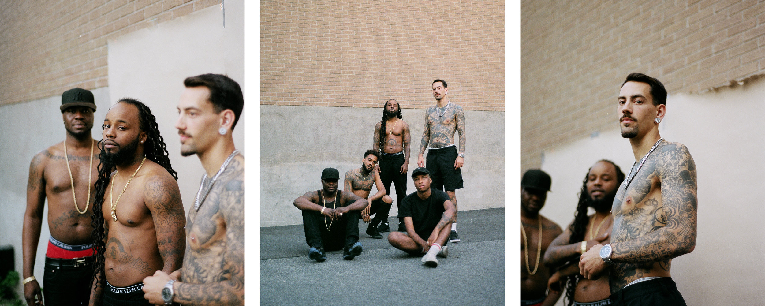 """Schaël's last Series """"Bodies and Tattoos"""" for The Modern OG."""