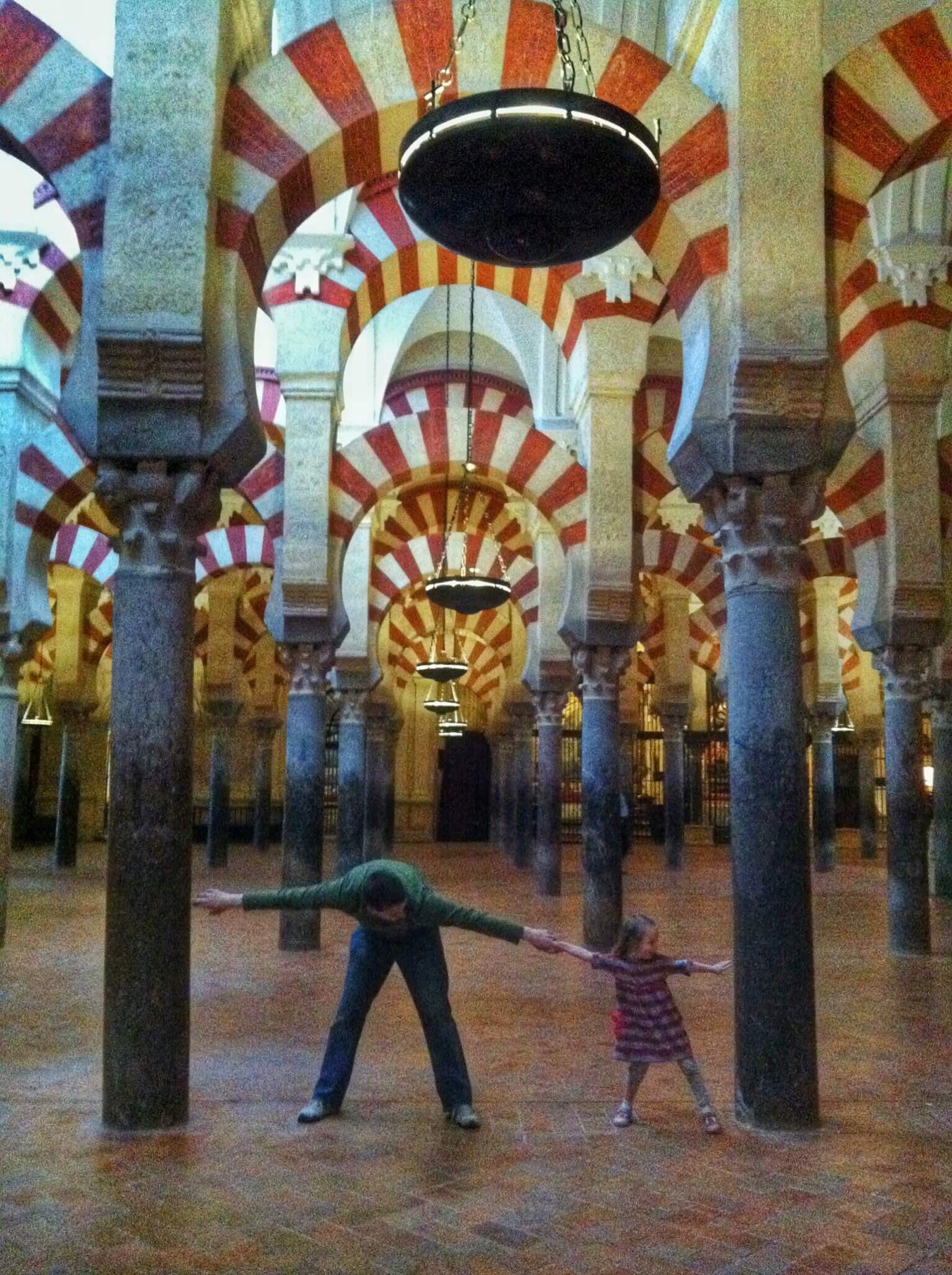Caroline and Josh at La Mezquita.JPG
