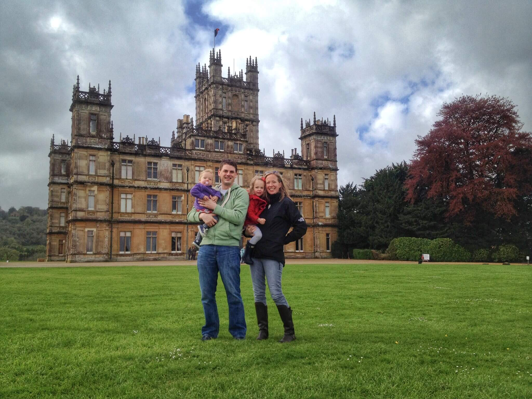 Family at Highclere Castle.JPG