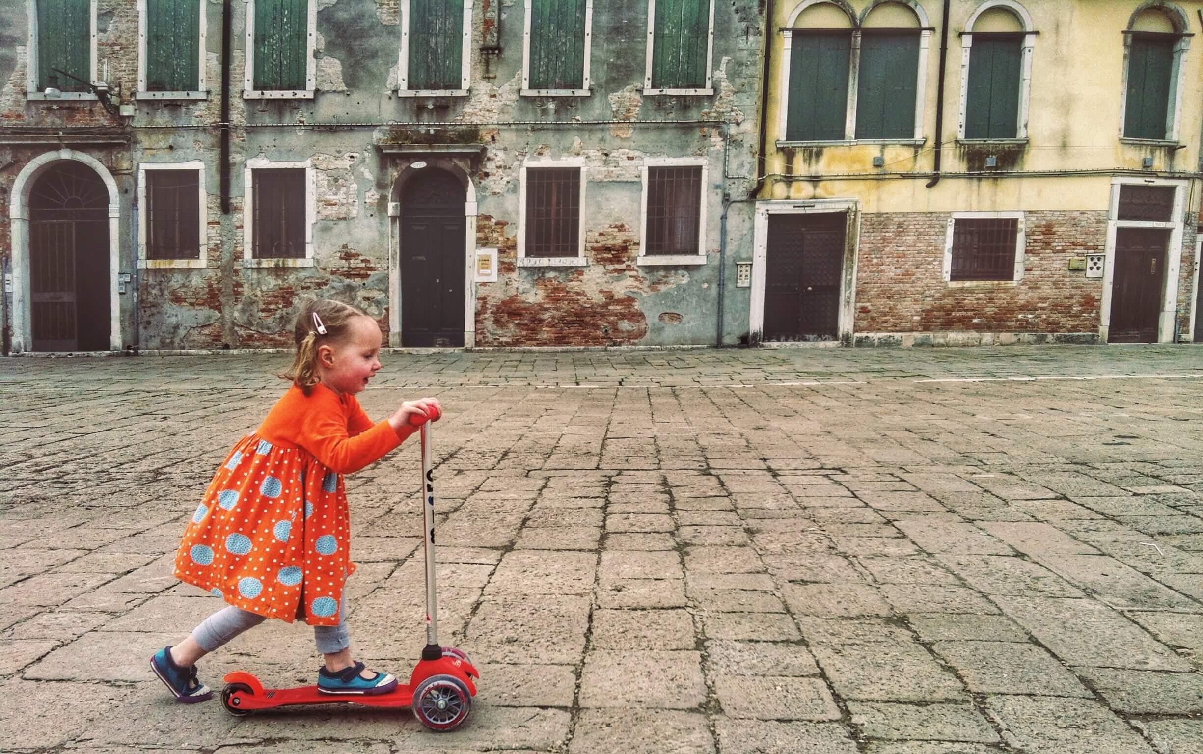 Caroline in Venice.JPG