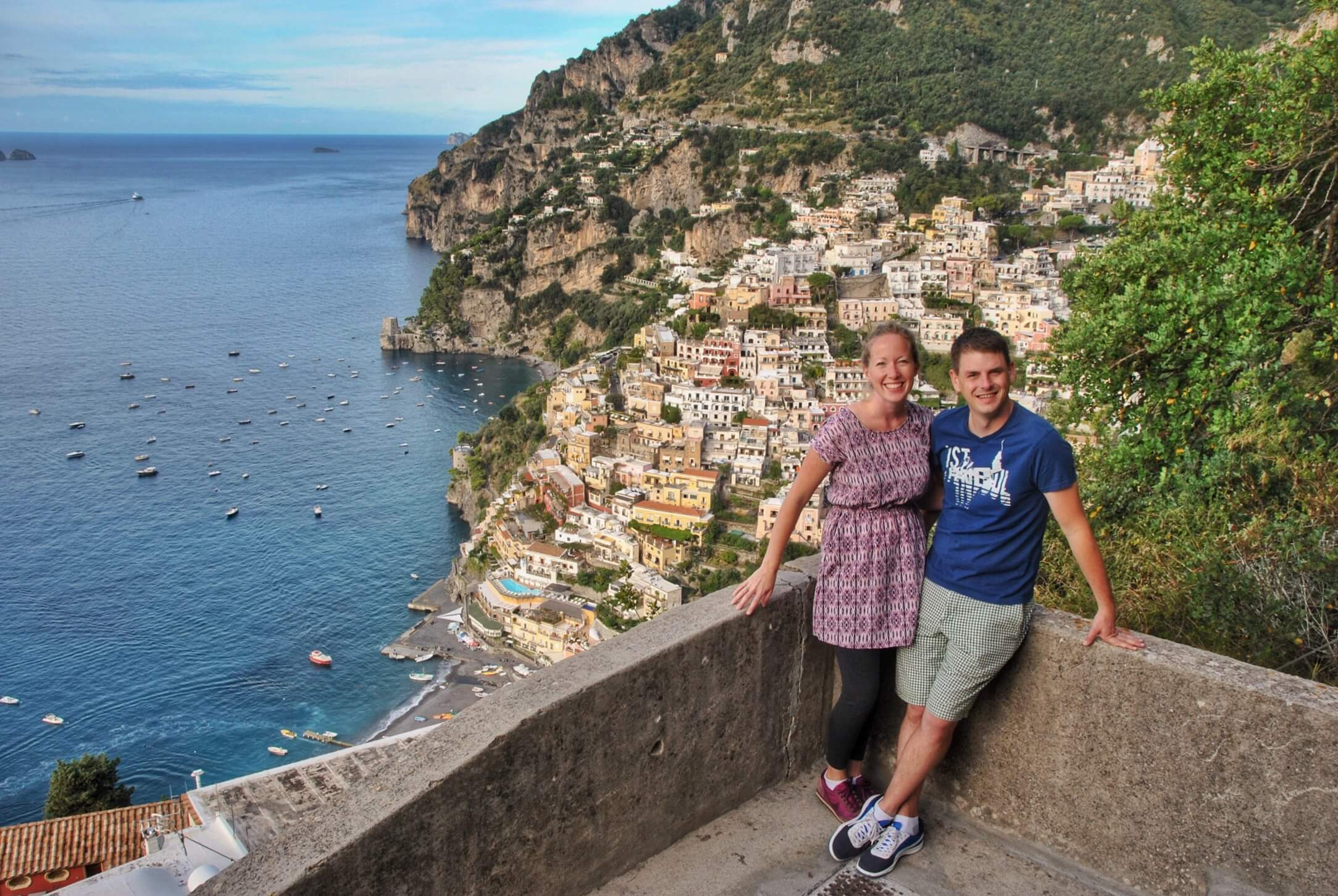 Jess and Josh at Positano.JPG