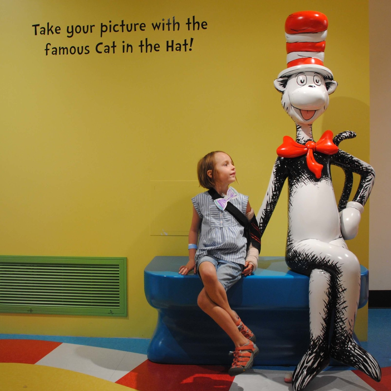 dr seuss museum - caroline and cat