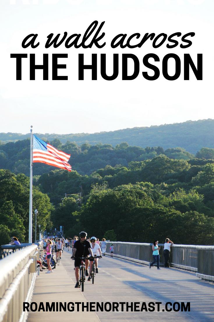 a walk across the hudson