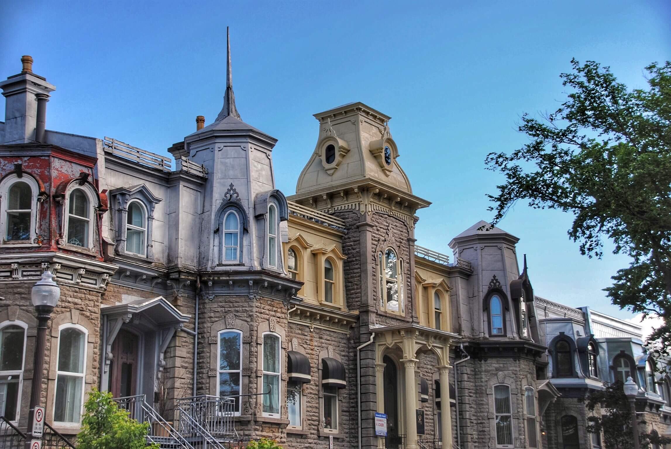 Quebec City Rooflines