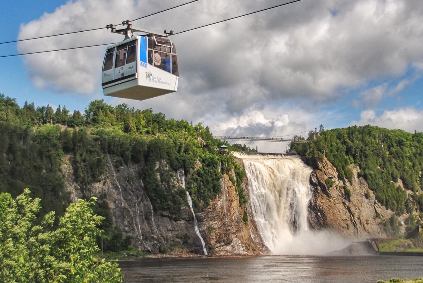 Montmorency Falls Cable Car