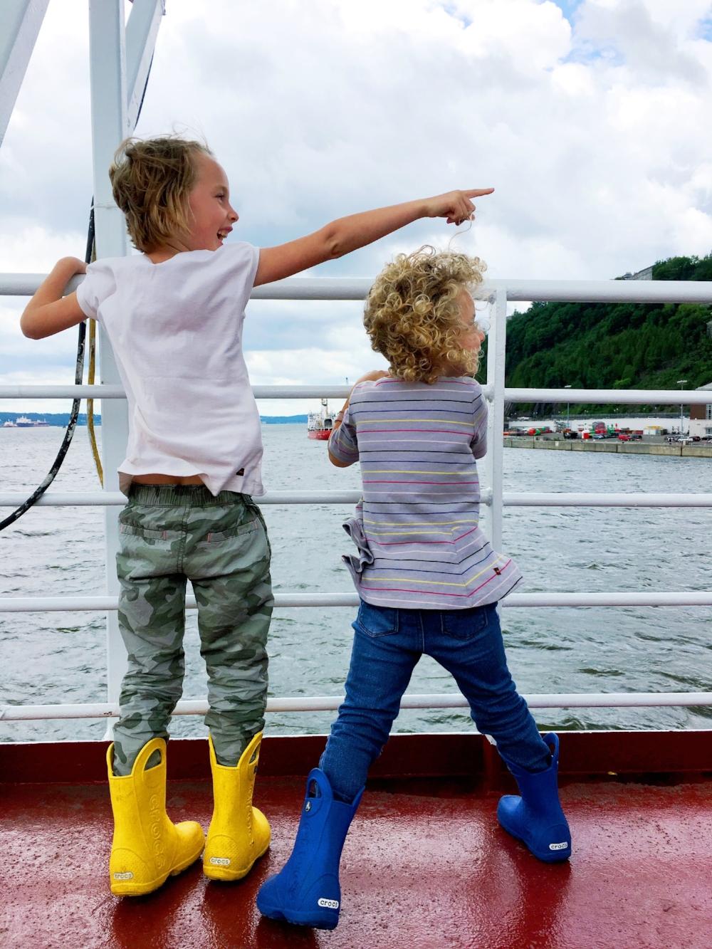 kids on boat quebec city.JPG