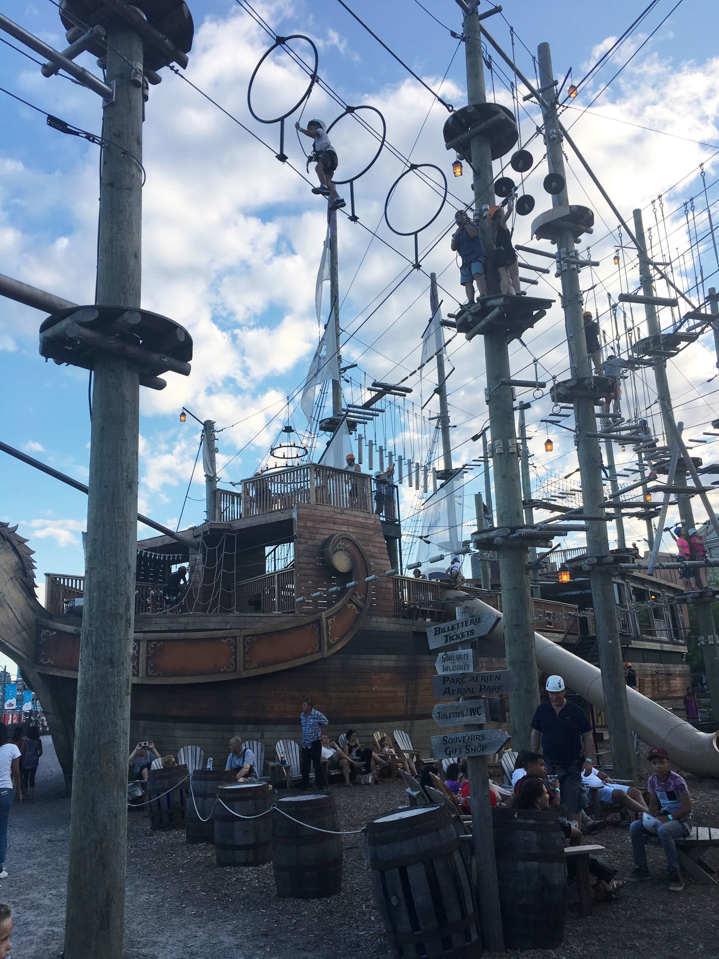 Old Port Montreal Pirate Ship