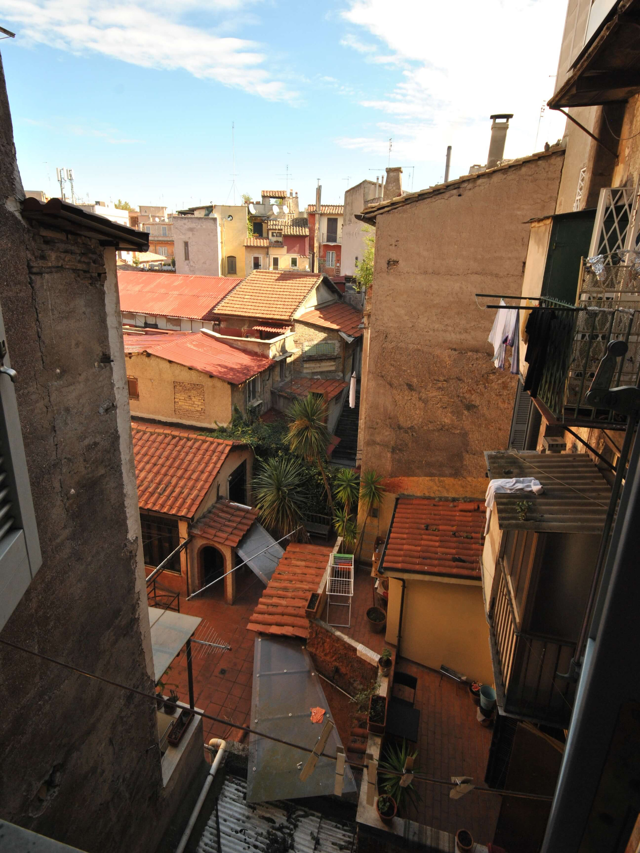 The view from our kitchen window, Rome.