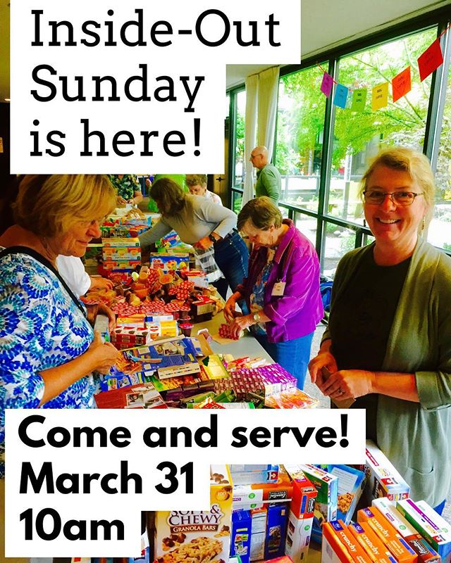 We've partnered with some amazing organizations, including @sleepinheavenlypeacebeds @hivalliance and @lookingglasscommunityservices for a community-wide day of #service tomorrow! All are welcome - come at 10am and find your team! Projects and conversations for kids and adults of all ages #eugene #oregon #rethinkchurch