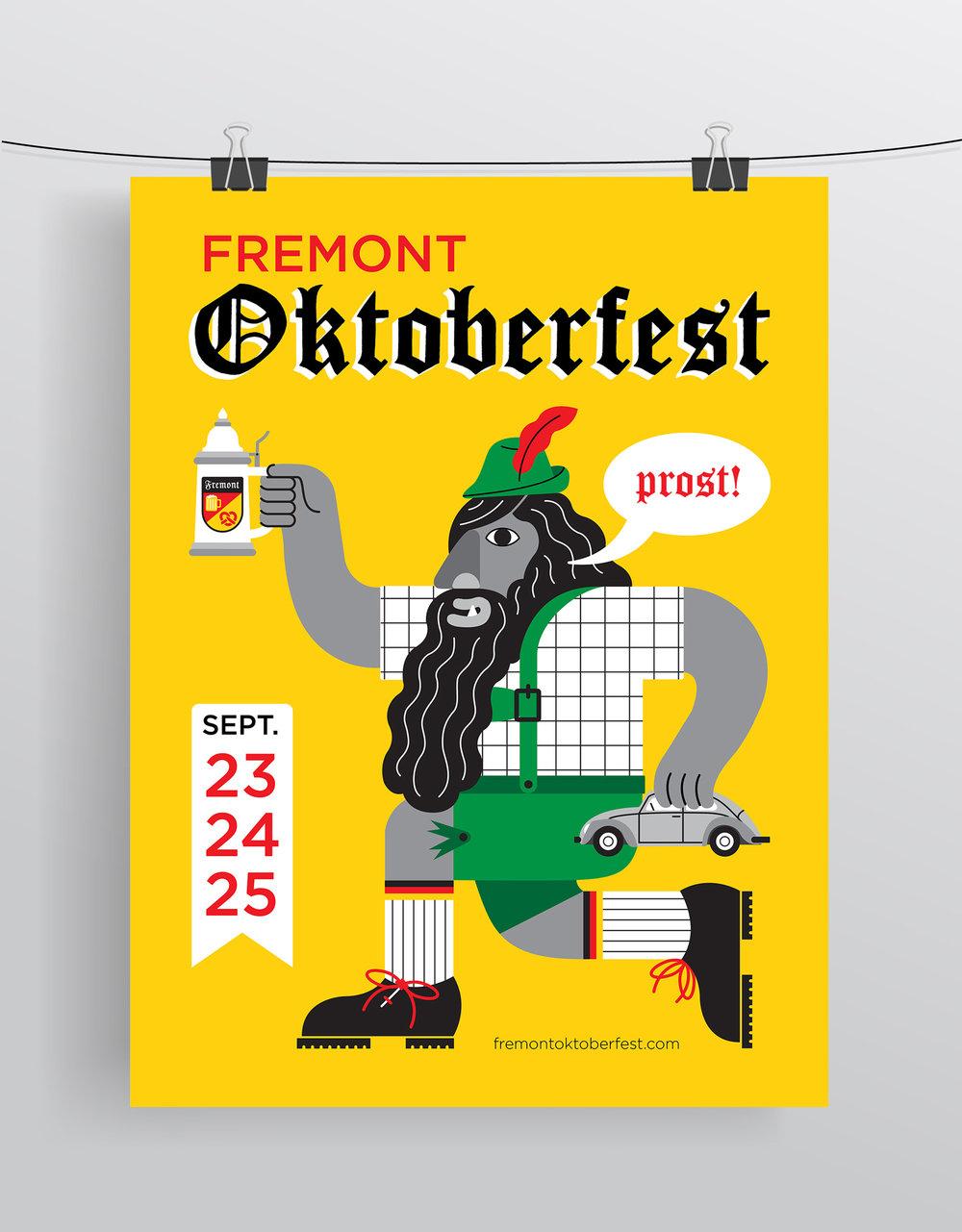 Fremont Oktoberfest  Digital Print