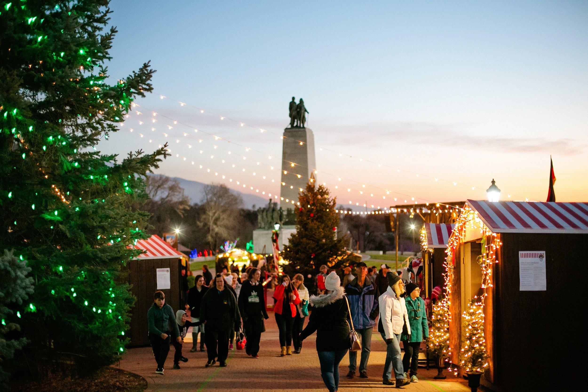 Christmas Activities In Slc 2021 Christkindlmarkt Slc