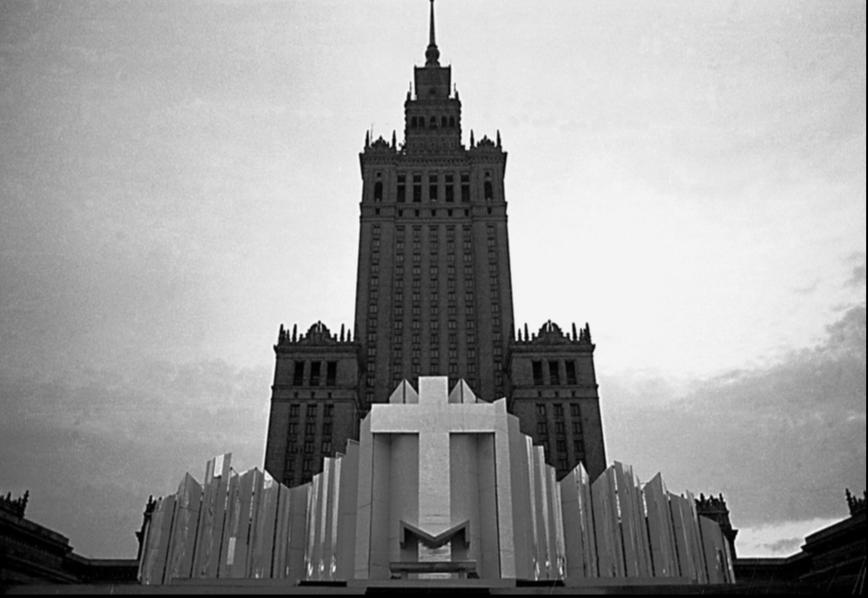 Ołtarz Papieski, Warszawa, 1987, fot. Anna Bogdziewicz