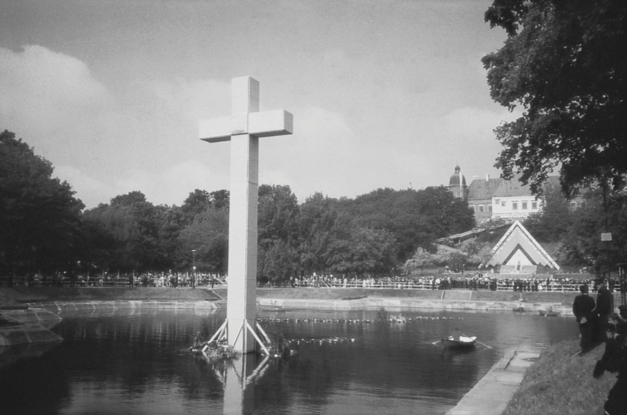 Ołtarz Papieski, Warszawa, 1991, fot. Jerzy Kalina