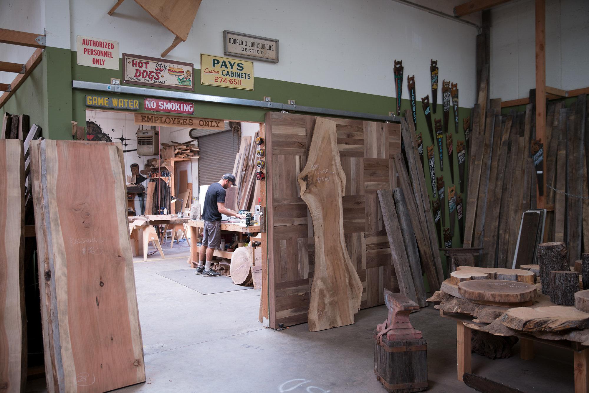 made lumber live edge slabs in san diego, ca