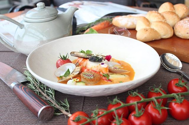 To celebrate #GoutdeFrance 2019 with @ifi_bandung, our Culinary Team at @the18th_tlh has prepared the authentic French cuisine which will give you the world-class palate.  Discover a high-spirited taste of Provencal dishes made from freshest ingredients for an exceptional culinary journey only at Taste of Provence at The 18th.  #TheTransLuxuryHotel #TransLuxuryExperience #the18th_tlh  #the18threstaurantandlounge