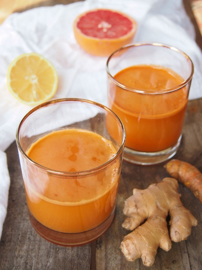Beauty Juice with Carrots and Citrus