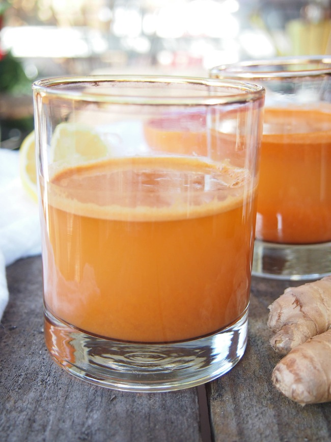 Healthy Skin Carrot Citrus Juice